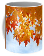 Leaves Nature Art Orange Autumn Tree Leaves Coffee Mug