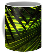 Leaves Of Palm Color Coffee Mug