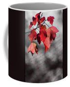 Leaves Of Red Coffee Mug