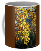 Leaves On Fire Coffee Mug