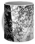 Leaves Over The River Coffee Mug