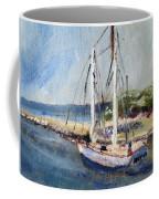 Leaving Sesuit Harbor Coffee Mug