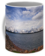 Leaving The Grand Tetons Coffee Mug