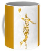 Lebron James Cleveland Cavaliers Pixel Art 12 Coffee Mug