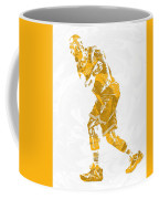 Lebron James Cleveland Cavaliers Pixel Art 13 Coffee Mug