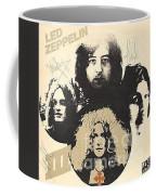Led Zeppelin Autographed Album  Coffee Mug