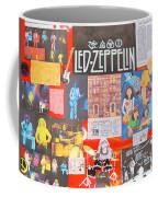 Led Zeppelin Color Collage Coffee Mug