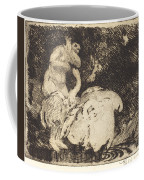 Leda Bathing (l?da Au Bain) Coffee Mug
