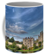 Leeds Castle And Moat Rear View Coffee Mug