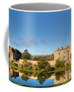 Leeds Castle And Moat Reflections Coffee Mug