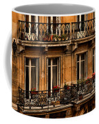 Left Bank Balconies Coffee Mug