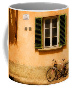 Left Flat In Lucca Coffee Mug