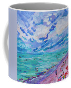 Left Panel Of Triptych Busy Relaxing Coffee Mug