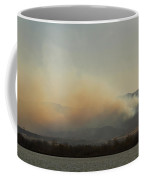 Lefthand Canyon Wildfire Across The Lake View Coffee Mug