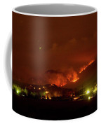 Lefthand Canyon Wildfire Boulder County Colorado 3-11-2011 Coffee Mug