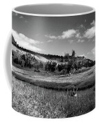 Legend Of The Bear Wyoming Devils Tower Panorama Bw Coffee Mug