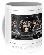 Legends Of Hollywood Poster Coffee Mug