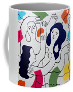Leger Light And Loose Coffee Mug by Tara Hutton