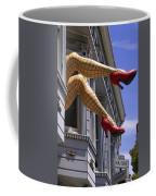 Legs Haight Ashbury Coffee Mug by Garry Gay