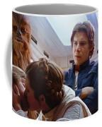 Leia Kisses Luke Coffee Mug