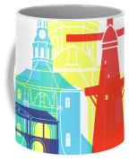 Leiden Skyline Pop Coffee Mug