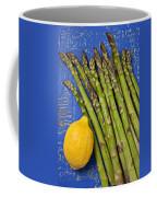 Lemon And Asparagus  Coffee Mug