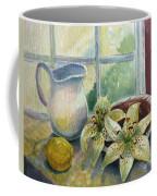 Lemon And Lillies Coffee Mug