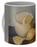 Lemon In A Bowl Coffee Mug