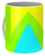 Lemon Lime Turquoise Coffee Mug
