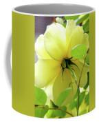 Lemon Yellow Rose Coffee Mug