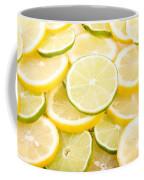 Lemons And Limes Abstract Coffee Mug