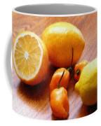 Lemons And Peppers Coffee Mug