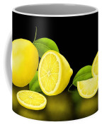Lemons-black Coffee Mug