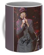 Leonard Cohen Autographed Coffee Mug