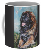 Leonberger Art Print Coffee Mug