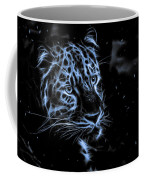 Leopard In The Darkness.  Coffee Mug