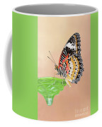 Leopard Lacewing Butterfly #2 V2 Coffee Mug