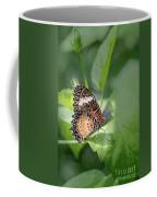 Leopard Lacewing Coffee Mug