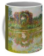 Les Arceaux De Roses. Giverny Coffee Mug