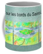 C'est Sur Les Bords Du Saint-laurent Mug Shot Coffee Mug