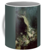 Les Fleurs Du Sommeil Coffee Mug by Achille Theodore Cesbron