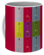 Les Paul Colorful Poster Coffee Mug