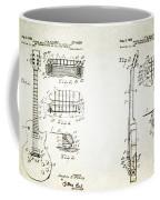 Les Paul Guitar Patent 1955 Coffee Mug