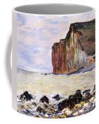 Les Petites Dalles Coffee Mug by Claude Monet