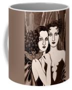 Les Vamperes In Sepia Tone Coffee Mug