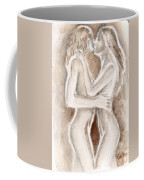 Lesbians Kissing Coffee Mug