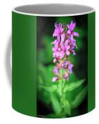 Lesser Purple Fringed Orchid Coffee Mug