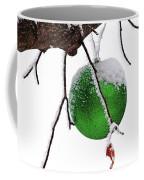 Let It Snow Christmas Ornament Coffee Mug