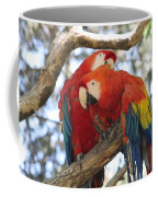 Let Me Get It - Scarlet Macaws Coffee Mug