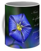 Let Yourself Bloom Coffee Mug